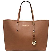 Buy MICHAEL Michael Kors Jet Set Travel Tote Handbag Online at johnlewis.com