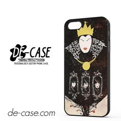 Evil Queen Mirror DEAL-4005 Apple Phonecase Cover For Iphone SE Case