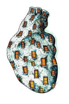 Windows to My Heart by Jim Bargas. Originally pinned by the artist.
