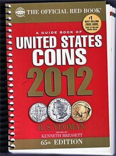 2012 United State Coins Red Book Guide