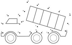 This Dump Truck connect the dots page is a great activity for kids who are learning about transportation. This page is printable and helps kids practice connecting the dots, counting by (Connect . Worksheets For Kids, Kindergarten Worksheets, Printable Worksheets, Preschool Activities, Hindi Worksheets, Preschool Programs, Truck Coloring Pages, Coloring Pages For Kids, Joining Dots