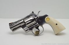 Colt Python 2.5 STS Lew Horton Ported Ivory
