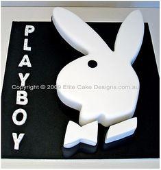 Image detail for -Playboy bunny Cake, 21st Birthday Cakes Sydney, Novelty Birthday Cakes ...