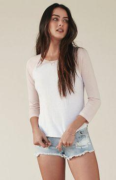 Spring Long Sleeve Raglan T-Shirt