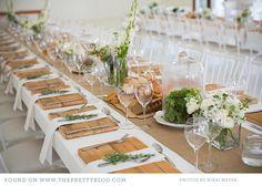table scape minimalistic