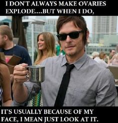 Norman Reedus, Daryl Dixon on The Walking Dead Walking Dead Funny, The Walking Dead 3, Walking Man, Daryl Dixon, Norman Reedus, Atlanta, Ncis, Favorite Tv Shows, Favorite Things