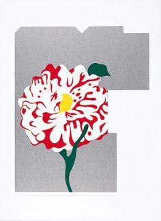 田中一光「タイトル不明」 (C)Ikko Tanaka/licensed by DNPartcom 奈良県立美術館蔵