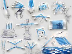 讓人意想不到!這些生活小物件竟然可以用來創作出這麽有趣的圖畫!   快樂工作室   大娛樂家 - FanPiece