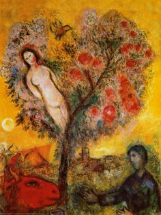 La Branche, Marc Chagall (1887-1985). Chagall embraced the philosophy that love colored his paintings. Focusing extensively on his childhood, his happy, optimistic paintings defy the poverty of his upbringing in a Russian Shtetl. After a brief time in Paris, Chagall escaped to the US during World War II where his career reached new heights including a rare exhibit during his lifetime at the Louvre.