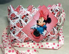 Check out this item in my Etsy shop https://www.etsy.com/listing/265559383/minnie-mouse-bag