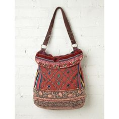 Free People Indian Summer Hobo ($128) ❤ liked on Polyvore featuring bags, handbags, shoulder bags, accessories, purses, sunrise, purse shoulder bag, leather handbags, hobo handbags and woven-leather handbags