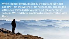 I am not sadness.