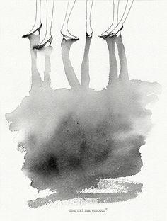 """""""¿Nuestras imágenes nos representan?"""" Ilustration Maruki Maremotto  https://es-es.facebook.com/Marukimaremotto"""
