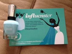 Sally Hansen Complete Salon Manicure ($7.99) .. Color: BARRACUDA .. #VowVoxBox @Influenster @Sally Hansen #CSMHaveItAll .. Influenster VoxBox Programs: I have received these products complimentary for testing purposes from influenster.