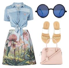 """Summer vaabes"" by angela-akua-akomaa-appiagyei on Polyvore featuring ADAM, GUESS, Boohoo, Soludos and Kate Spade"