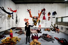 Annette Messagers retrospective at the Hayward Gallery, London