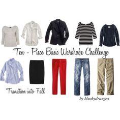 10 - Piece Wardrobe Challenge