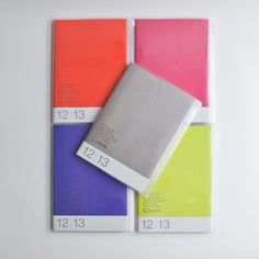 $34 Update your life! These A5 size pocket planners for 2013 are the epitome of good design. With easy-to-follow calendar, monthly, weekly, and practical information sections, there is a place to keep everything you need to remember.