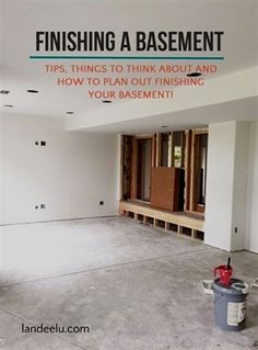 How to Finish Your Basement and Basement Remodeling Finishing your basement can almost double the square foot living space of your home. A finished basement can include new living space such as a r… Basement House, Basement Plans, Basement Storage, Basement Flooring, Basement Renovations, Home Remodeling, Basement Ideas, Basement Decorating, Basement Ceilings