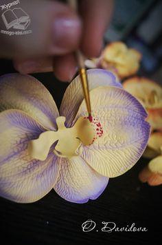 Мастер класс орхидея из фоамирана  | Цветы своими руками