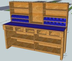 Kaul saved to Wood-Working a bench versus buy a bench. - Archive 10 Easy Woodworking Bench Plans For Garage Spaces