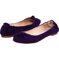 I love this purple-durple suede!  It's bold and fun!