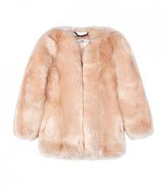 Topshop Baby Pink Boxy Coat