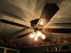 ceiling fan light covers mason jars - Google Search