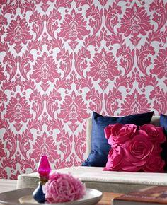 Majestic: Hot Pink Wallpaper