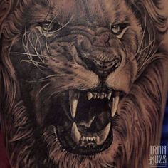 Love this Lion tattoo!!