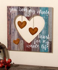Pallet Wall Plaques with Charms | LTD Commodities