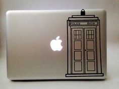 Doctor Who: TARDIS vinyl decal by VinylReflection on Etsy