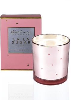 Like the Mrs Darcy Starluxe La La Sugar Scented Candle? Scented Candles, Candle Jars, Candle Store, Pretty In Pink, Sugar, Cleaning, Candle Shop, Home Cleaning