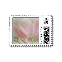 Candy Pink Tulip Stamps