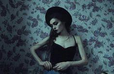 Dark vintage style