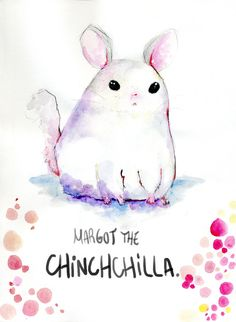 chillin chinchilla. by MiniMushroom.deviantart.com on @deviantART
