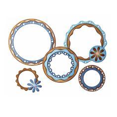 alina crafts snowflower circle wafer dies circles