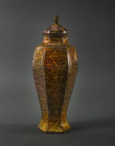Richard Stratton's Objective Art Awrad winning - Treacle Hallucinogenic Urn, 2013  See the exhibition of the Objective Art Awards' finalists at Mangere Art Centre until 1 December