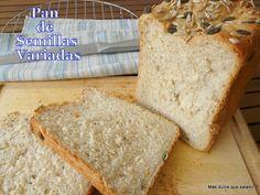Pan de semillas variadas.Con pipas de calabaza, pipas de girasol,piñones y semillas de sésamo
