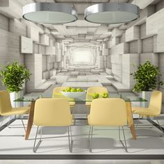3D Tapete Küche | Vlies Fototapete 400x280 Cm 3 Farben Zur Auswahl Top Tapete