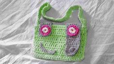 Monster bag for a little girl