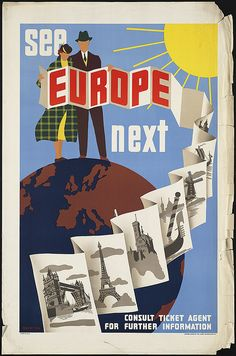 See Europe next by Boston Public Library, via Flickr