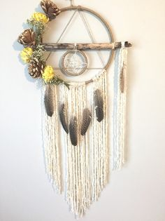 Dream catcher Rustic Dreamcatcher Unique by BlairBaileyDesign