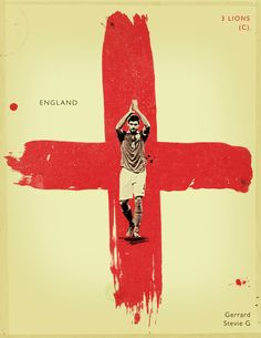 World Cup 2014 - Each Country's Fan Favourite by Jon Rogers, via Behance  #soccer #poster #jonrogers
