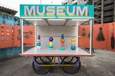The museum moves around Dharavi - Mumbai's largest informal settlement.