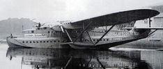 The biggest aquaplane in the world, the italian Caproni Balena (The Whale).