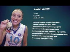 Jordan Larson tips on how to attack.