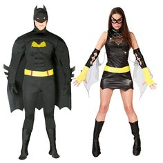 Pareja Disfraces de Batmans  #parejas #disfraces #carnaval