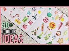 In today's Art Journal Thursday episode I'll show you watercolor doodle ideas that are perfect for your Bullet Journal, Christmas card designs . Christmas Holidays, Christmas Crafts, Kids Watercolor, Doodle Art, Doodle Ideas, Watercolour Tutorials, Workout For Beginners, Traditional Art, Art Drawings