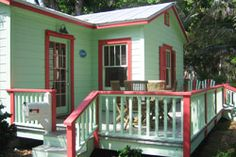 one of original Moorings cottages